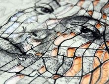 Western Front Cutout Series MAP Portraits by Ed Fairburn