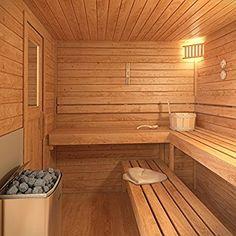 23 trendy Ideas for home gym sauna hot tubs Sauna Diy, Dry Sauna, Sauna Steam Room, Sauna Room, Steam Bath, Saunas, Sauna Wood Stove, Design Sauna, Ideas