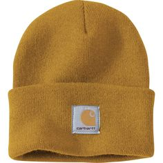 Carhartt Acrylic Watch Cap - Irregular Carhartt Brown - One Size Beanie Outfit, Men's Beanies, Beanie Hats, Cute Casual Outfits, Rock Outfits, Hipster Outfits, Emo Outfits, Hats For Men, Women Hats