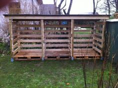 DIY Pallet Wood Shed | MyOutdoorPlans | Free Woodworking Plans and Projects, DIY Shed, Wooden Playhouse, Pergola, Bbq