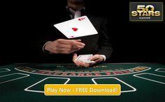 Blackjack - Play Blackjack in 50Stars Casino and get a welcome Bonus