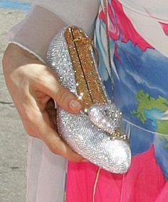 judith leiber Bag Swarovski Cinderella Slipper