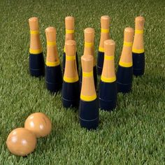 Outdoor Games and Play Lawn Games, Backyard Games, Bowling Pins, Bowling Ball, Orange Grey, Red And Grey, Veuve Cliquot, Carnival Birthday Parties, 30th Birthday