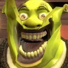 When the dentist tells you to open Wide - iFunny :) Funny Profile Pictures, Funny Reaction Pictures, Funny Pictures, Stupid Funny Memes, Funny Laugh, Funny Relatable Memes, Shrek Memes, Dankest Memes, Benny And Joon