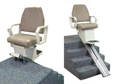 The AmeriGlide Heavy Duty stair lift comes with a spacious seat and a 500 pound weight capacity.  Experience the best in strength and performance.