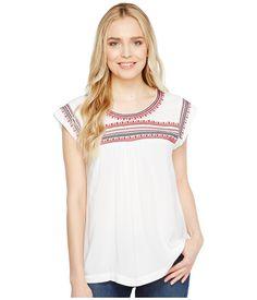 ARIAT ARIAT - BRANDY TOP (WHITE) WOMEN'S CLOTHING. #ariat #cloth #