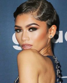 Zendaya - Beauty!! Wedding makeup, bridal makeup, makeup inspiration, wedding inspiration