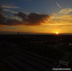 #sunset #8/10 #clouds #cloudporn #gent #ghent #visitgent #ghentcity #colours #belgium #igbelgium #sun #belgium_unite #landscape #nofilter #wanderlust #travel #travelgram #sunsets #aerialphotography