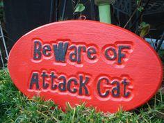 outdoor decor outdoor cat plaque cat pets by FairybehindtheDoor