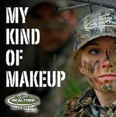 Country girls...never worn real make up before