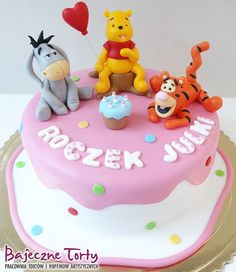 Torty dla dzieci, tort Kubuś Puchatek