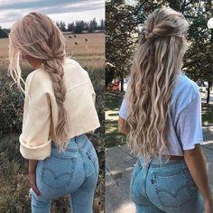 HAAR DES TAGES Einkaufslink in Bio . - - HAAR DES TAGES Einkaufslink in Bio . - - There's no challenge with wholesaling via a spg wild hair movement report. Super Easy Hairstyles, Summer Hairstyles, Messy Hairstyles, Heatless Hairstyles, Hairstyles Tumblr, Long Blonde Hairstyles, Casual Braided Hairstyles, Pinterest Hairstyles, College Hairstyles