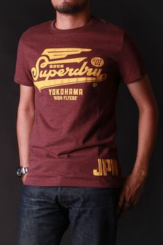 mens t-shirts with music theme Cool Tees, Cool T Shirts, Tee Shirts, Tee Shirt Designs, Cool Logo, Superdry, Mens Tees, Mens Fashion, Fashion Trends