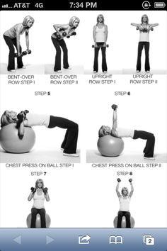 Arm workout- Monday, Wednesday, Friday