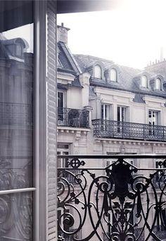 Balcony in Paris, France Parisian Apartment, Paris Apartments, Paris City, Paris Street, Paris Paris, Paris Travel, France Travel, Tour Eiffel, Paris France