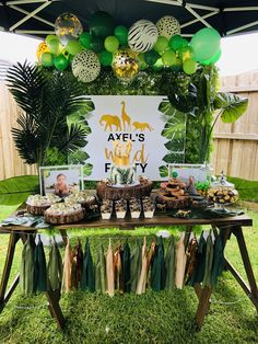 17 Ideas baby shower ideas safari theme kids for 2019 17 Ideen Babyparty Ideen Safari Thema Kinder für 2019 Safari Theme Birthday, Boys First Birthday Party Ideas, Jungle Theme Parties, Wild One Birthday Party, Safari Birthday Party, 1st Boy Birthday, Boy Birthday Parties, Safari Theme Baby Shower, Birthday Animals