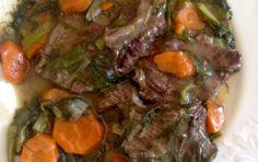 Μοσχάρι λεμονάτο με καρότα(3 μονάδες) – Η δίαιτα των μονάδων
