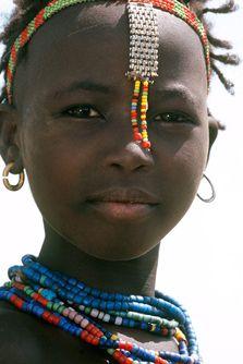 Africa | Dassanach Girl, Ethiopia
