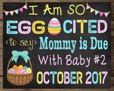Baby #2 announcement