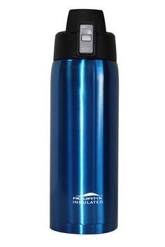 21 oz Thermal Double Insulated Vacuum Sealed Sports Bottle Flip Top (White/ Gold/ Blue/ Red/ Black)
