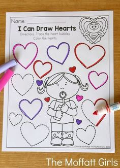 February FUN-Filled Learning February FUN-Filled Learning Michelle Kindergarten Ideas Teach number concepts colors shapes letters phonics and so much more with the nbsp hellip preschool Valentines Day Crafts For Preschoolers, Valentines Day Activities, Preschool Activities, Preschool Learning, Learning Letters, Valentine Theme, My Funny Valentine, Valentine Day Crafts, Kids Valentines
