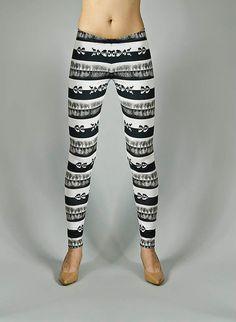 Leggings digitally printed Designer pattern  DEER by FORESTIN, zł120.00
