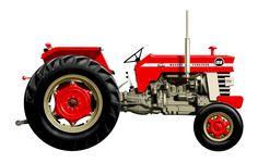 Massey Ferguson 188 tractor