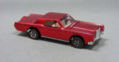 Hot Wheels Redline USA Custom Continental Mark III in Spectraflame Red! $99
