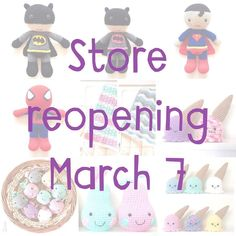 So I've changed the date of the restock to release a small selection of Easter gifts! Sneak peaks coming soon!  #madewithmwa #amigurumi #crochet #crochetcrazy #crochettoy #crochetersofinstagram #pear #pirumparum #apple #superheroes #uhoh #icecream #madeinperth #handmade #handmadeinwa #handmadekids #nursery #nurserydecor #kidsroom #kidsroomdecor by madewithmwa