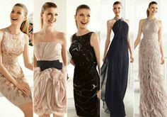 Te avanzamos algunos de los vestidos de fiesta de la pre-colección Pronovias 2013 para invitadas.