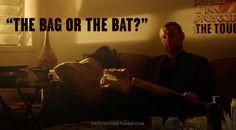 The bag or the bat? The way Ray negotiates.#RayDonovan