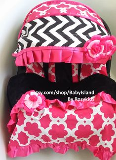 Baby Car Seat Cover Canopy Blanket Infant Car Seat by BabyIsland