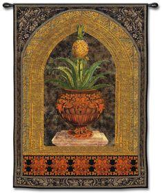 "Pineapple Surprise Medium 53"" High Wall Tapestry -"