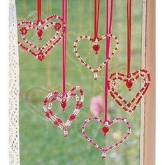 Window Hearts...
