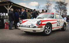 Richard Attwood & PorscheGB - 1965 Porsche 911 at the Goodwood 73rd Members Meeting (Photo 1)