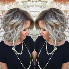 Balayage is my life❤️ashy root to icy blonde