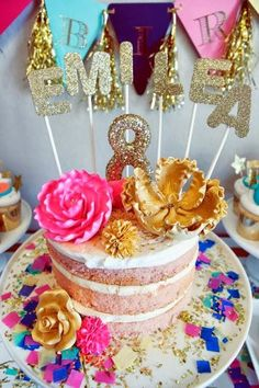Glitz and Glamour Party by Oh Goodie Designs.