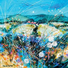 'Rusty Barns near Todhead' by Deborah Phillips (H078) (large card)