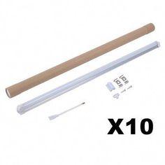 10 sets t8 led tube lights 85v 265v 14w kitchen bathroom lighting lamps white