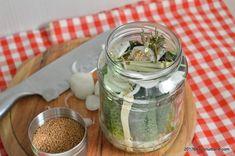 reteta castraveti murati la otet dulci acrisori Mason Jars, Urban, Canning, Mason Jar, Glass Jars, Jars