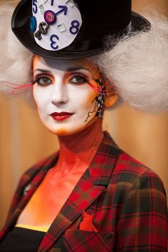 VFS Makeup Design Students Display Halloween Makeup on Urban Rush by vancouverfilmschool, via Flickr