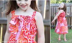 Elastic dress for girls - super easy!