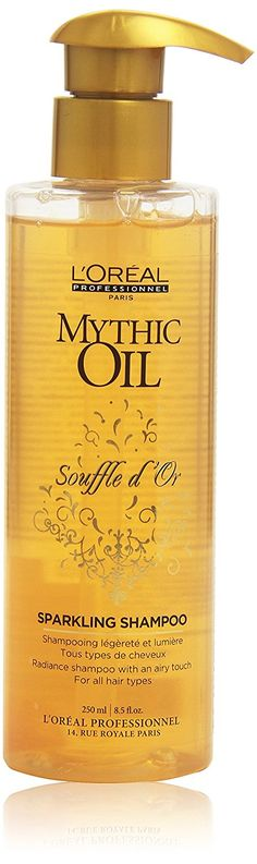 Mythic Oil Souffle Shampoo, 250 ml L`Oreal [Badartikel] by L'Oreal Paris >>> To view further, visit now : Hair Shampoo