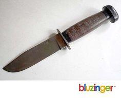 Vintage H. BOKER & Co. U.S.A Fixed Blade Hunting Knife  | eBay
