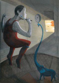 Editorial Illustration by Jose Luis Espuelas
