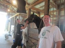 definitely not a puppy, but great blog about my cousin's and their experience racing horses