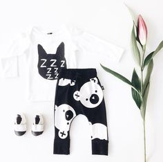 Black & White Baby Outfit