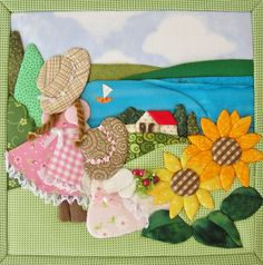 Sewing stitches by hand: learn step by step and customize your clothes! Applique Designs Free, Applique Patterns, Applique Quilts, Quilt Patterns, Patch Quilt, Quilt Blocks, Scrappy Quilts, Baby Quilts, Sewing Stitches By Hand