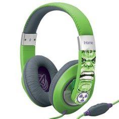 KIDdesigns MG-M40 Hulk Headphones