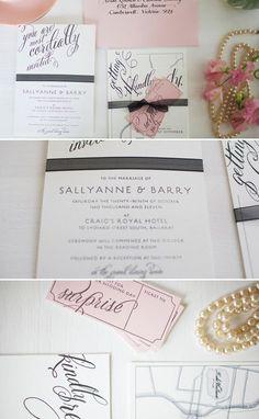 Cute invitations.